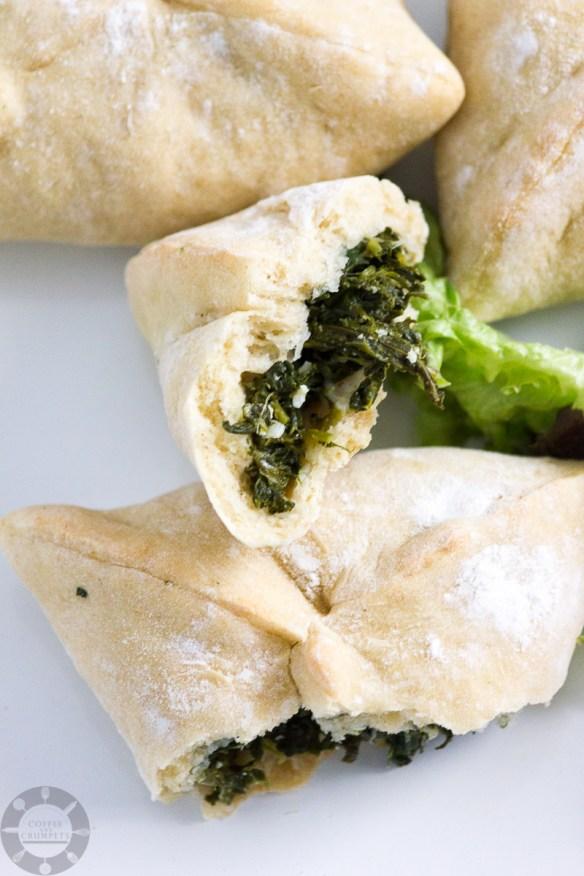 Spinach and Feta Fatayer-6