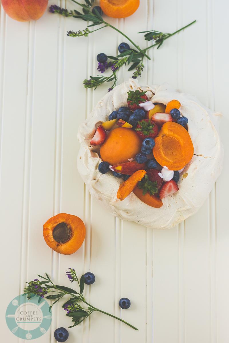 Stone Fruit Pavlova