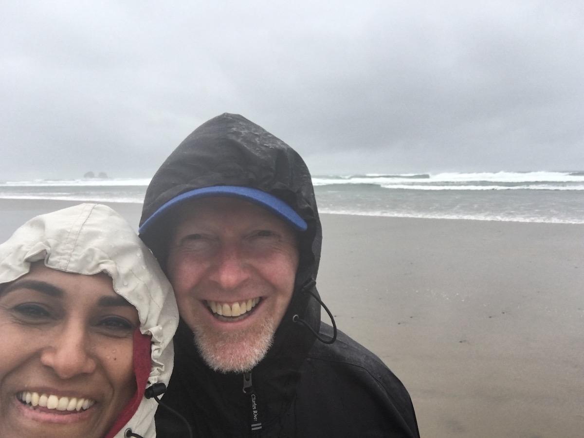 Blustery beach!