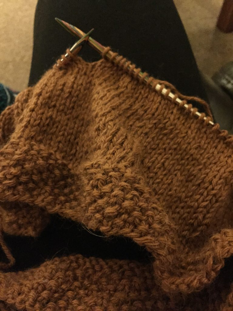 Glacier Cardigan - Knitting The Cardigan