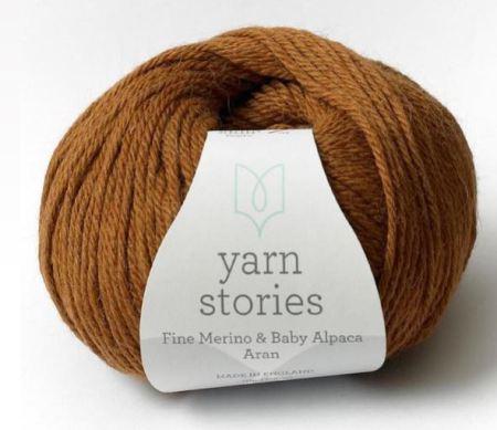 Glacier Cardigan - Yarn Stories Fine Merino