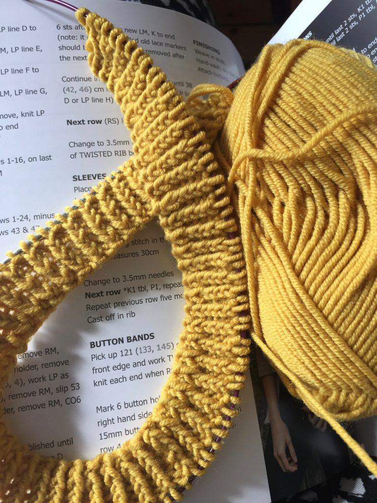 Toft Abergeldie Lace Cardigan - The Yarn