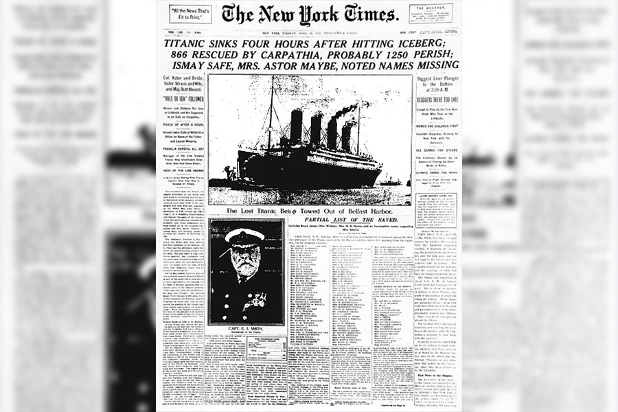 26. Sinking Of The Titanic