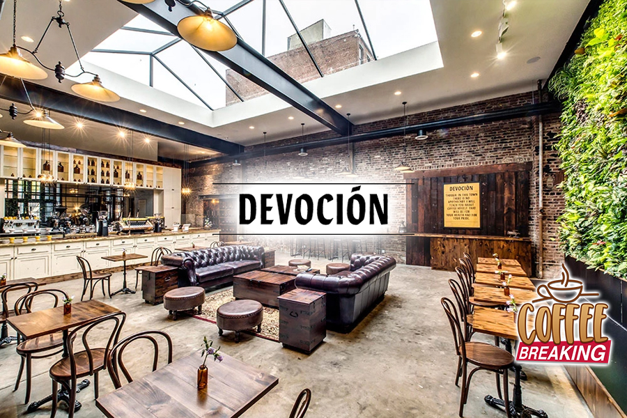 8 Devocion Top 10 Coffee Shops In NYC