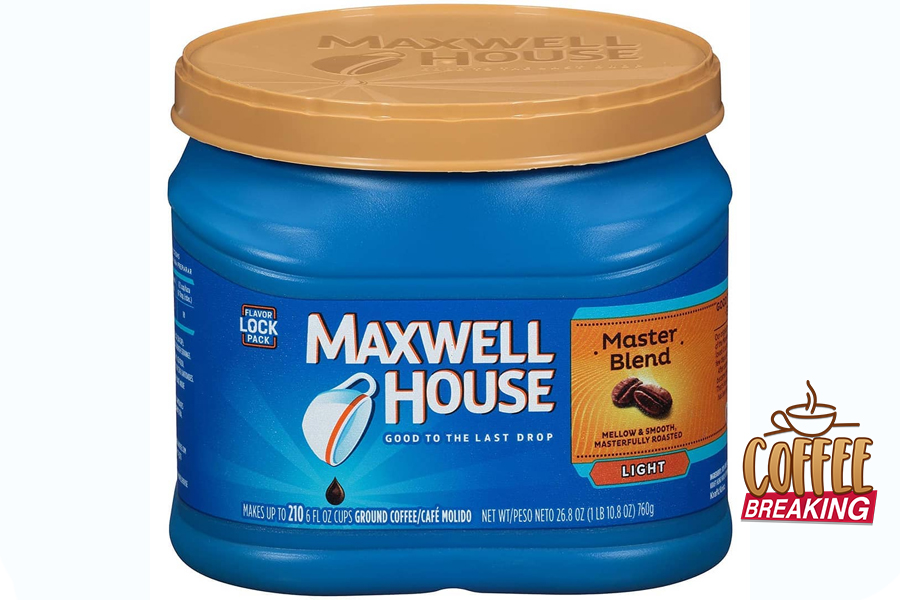 3 Maxwell House Master Blend Light Top 5 Grocery Bought Coffee Brands