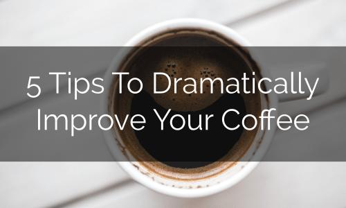 improve your coffee