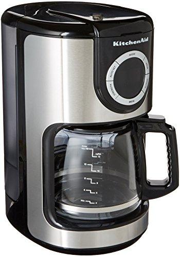 Coffee Consumers KitchenAid KCM1202OB 12 Cup Glass