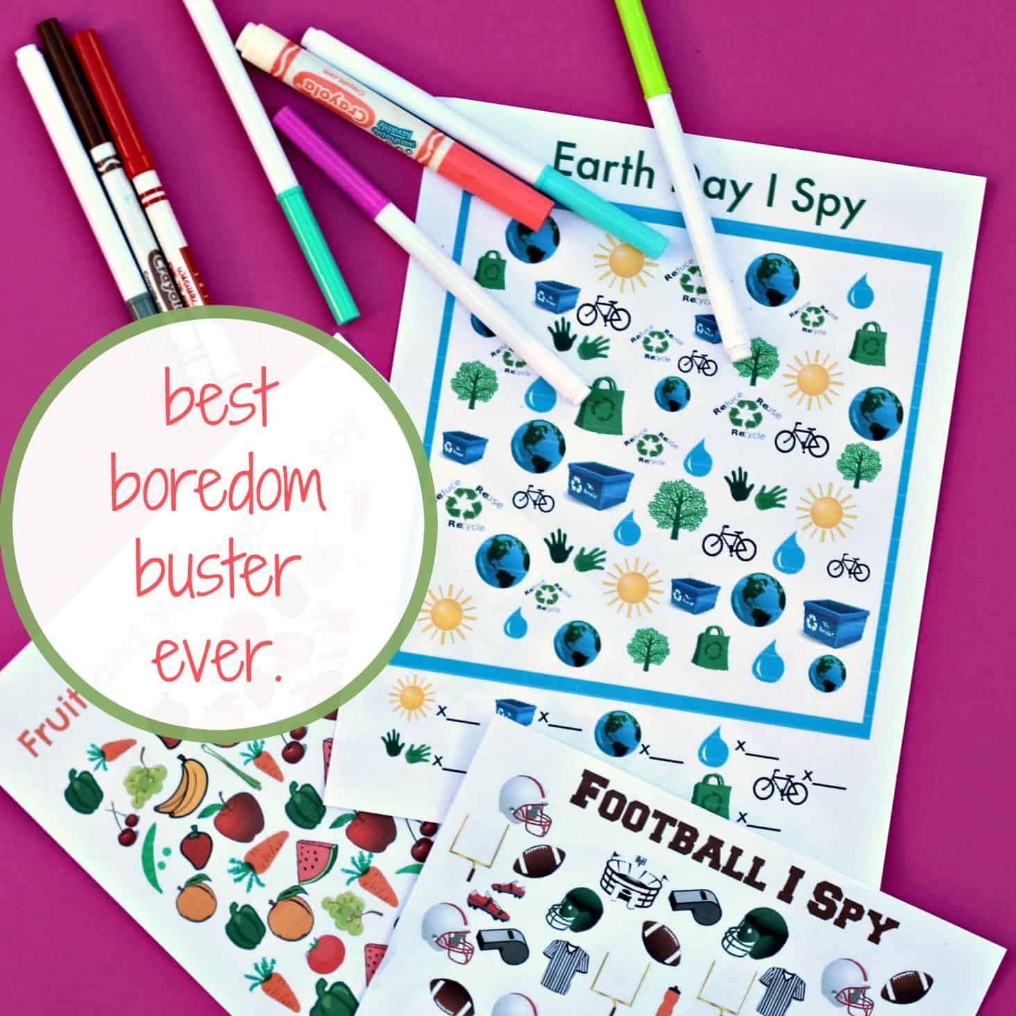 Best Boredom Buster Ever I Spy Busy Bag