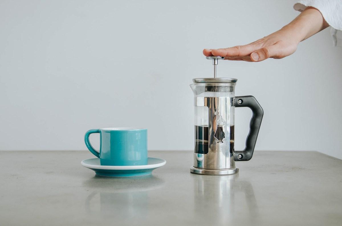 prasa francuska kawa