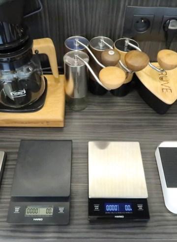 waga do kawy test