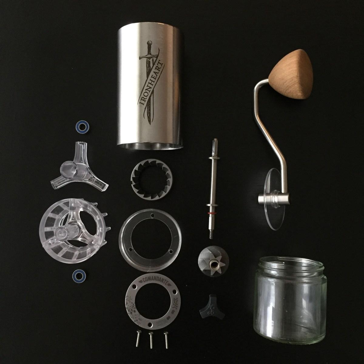 comandante ironheart coffeedesk
