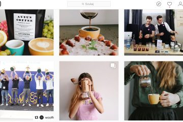 instagram Coffeedesk