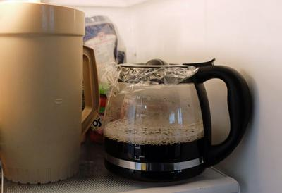 is it safe to keep coffee in the fridge