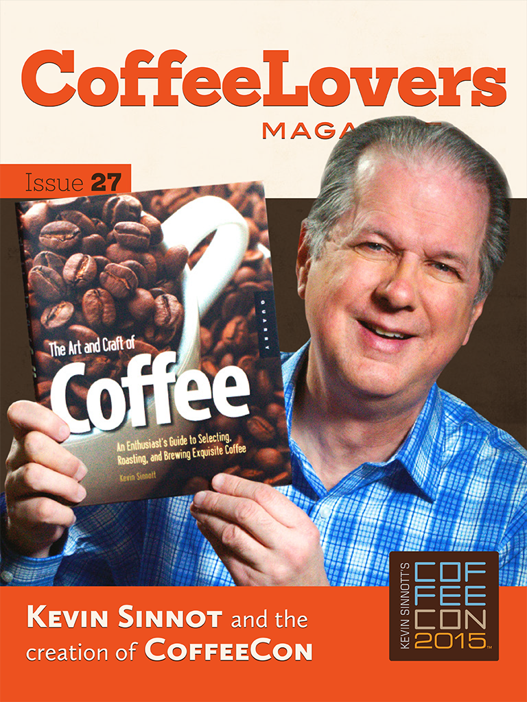 Issue 27 – Kevin Sinnott and CoffeeCon