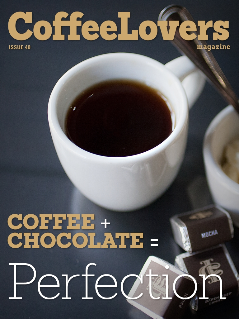 Issue 40 – Coffee and Chocolate are Perfection