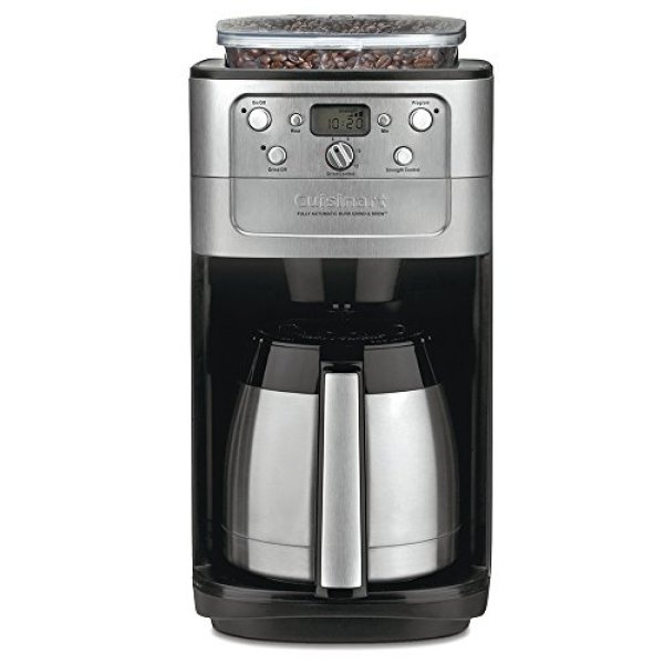 Best Coffee Makers Review Guide - Cuisinart DGB-900BC Grind & Brew Automatic Coffee maker