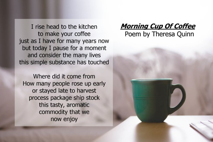Good Morning Coffee Poems
