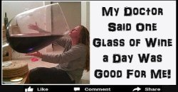 Doctor Said One Glass Of Wine
