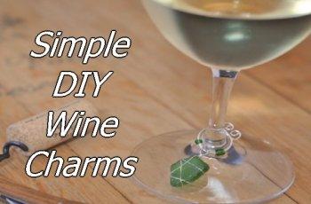 Simple DIY Wine Charms 1