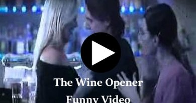 The Wine Opener Funny Video - Girlfriends bet on who can pull the player