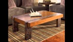 Rustic Style Coffee Tables Ideas 1