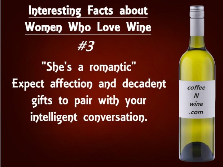 Interesting facts about women who love wine 3
