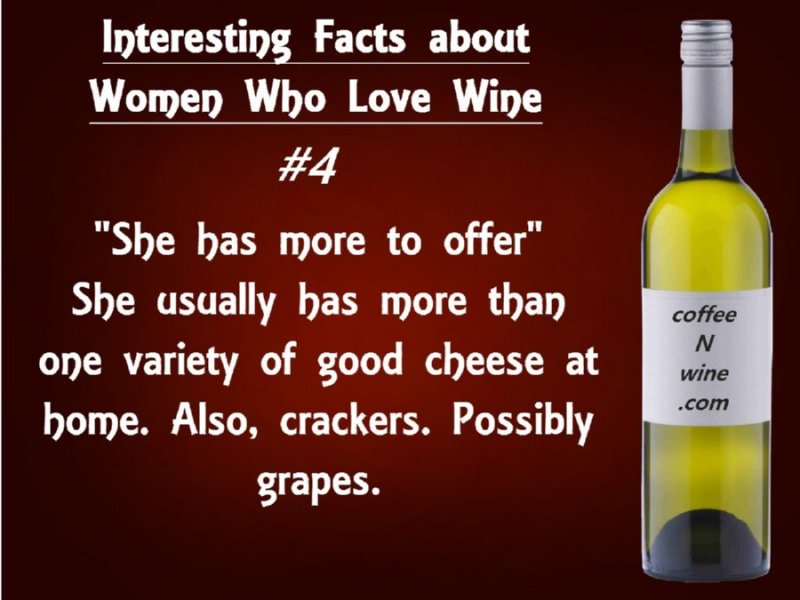 Interesting facts about women who love wine 4