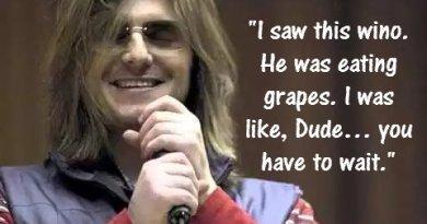 Mitch Hedberg Wine Jokes
