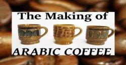 The Making of Arabic Coffee
