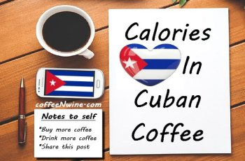 Calories In Cuban Coffee
