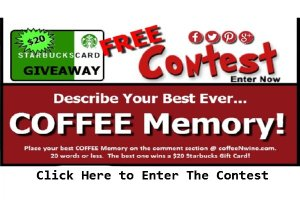 What is your best ever Coffee Memory?