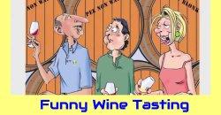 Funny Wine Tasting Cartoon Video