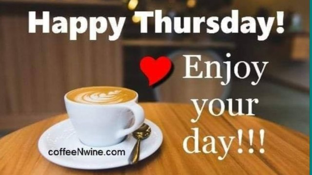 Its Thankful Thursday Coffee Day