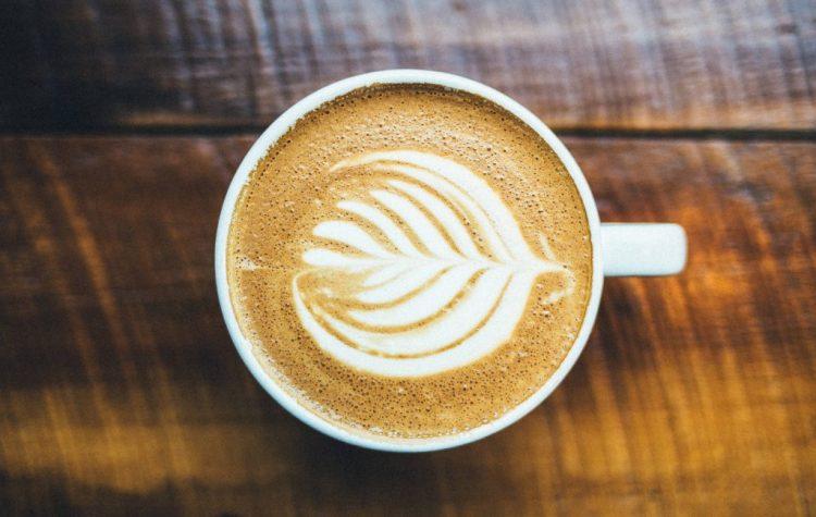 Latte Art Rosetta Shape