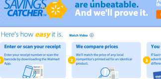 Wal-Mart Savings Catcher