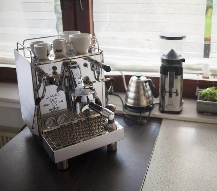 bezzera magica Kaffeebar für zu Hause