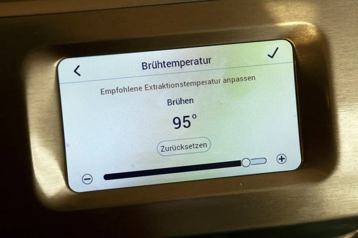 Oracle Touch PID Steuerung
