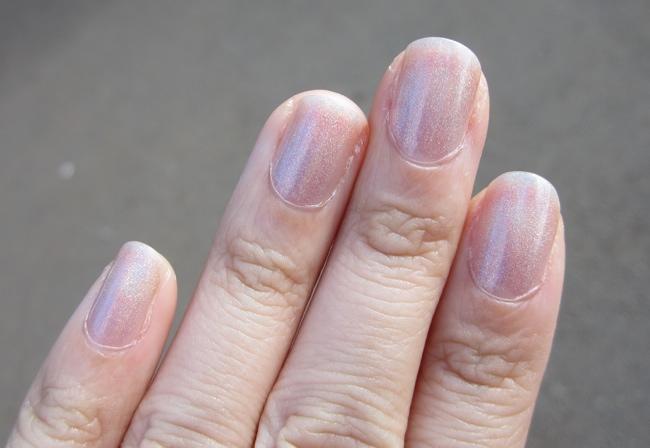 glitter gal australia holographic nude indirect light