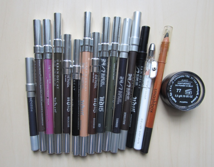 inventory london 2015 eyeliners