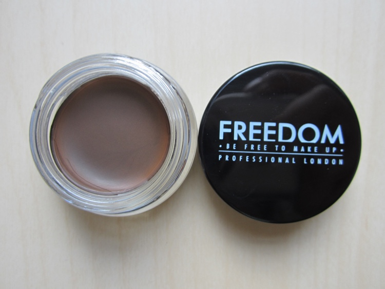 freedom makeup eyebrow pomade ebony