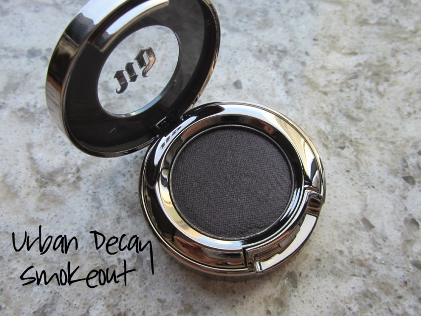 urban decay eyeshadow smokeout