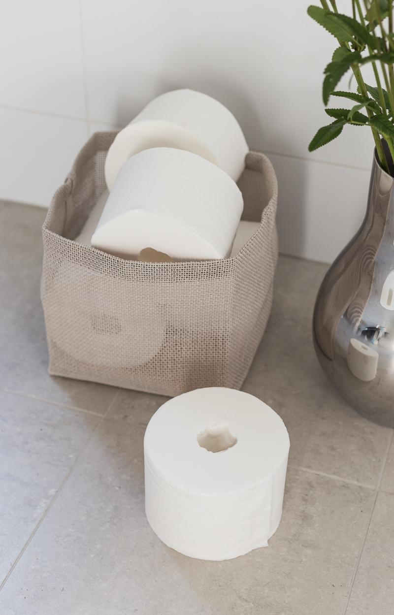 Lotus pehmopaperit, Lotus Smart hylsytön wc-paperirulla, koti-spa, kylpyhuone