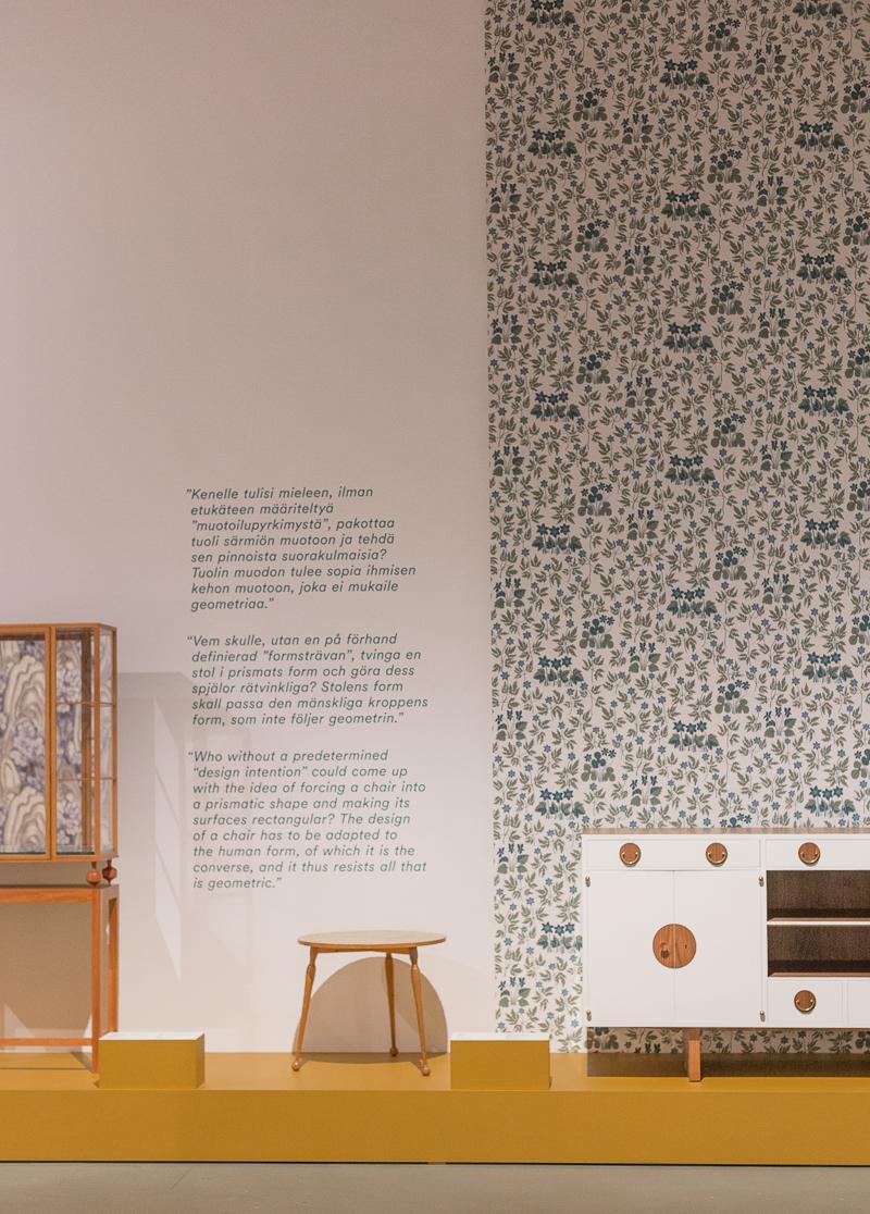 Arkkitehti, muotoilija Josef Frank näyttely, Designmuseo Helsinki, Svenskt Tenn