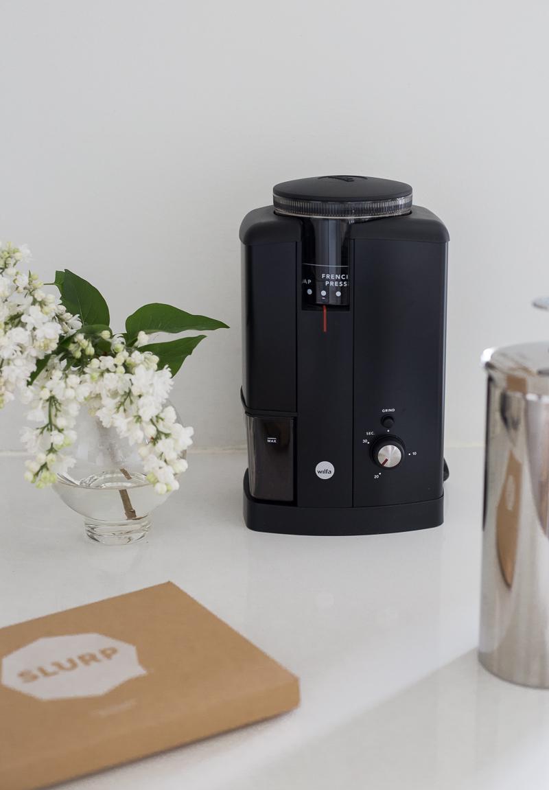 Slurp kahvielämys, kahvia postilaatikkoon, Wilfa Svart kahvimylly kokemuksia, Espro pressopannu