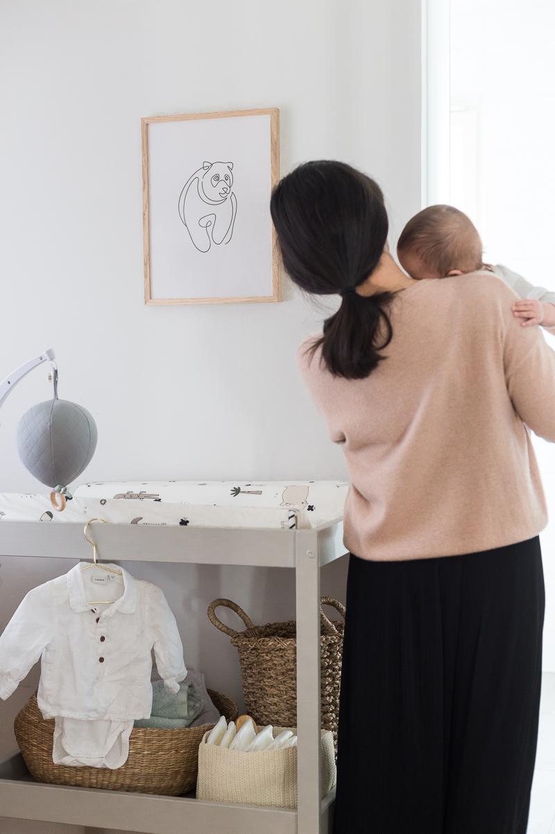 Mitä hankkia ennen vauvan syntymää? Ikea Sniglar hoitopöytä