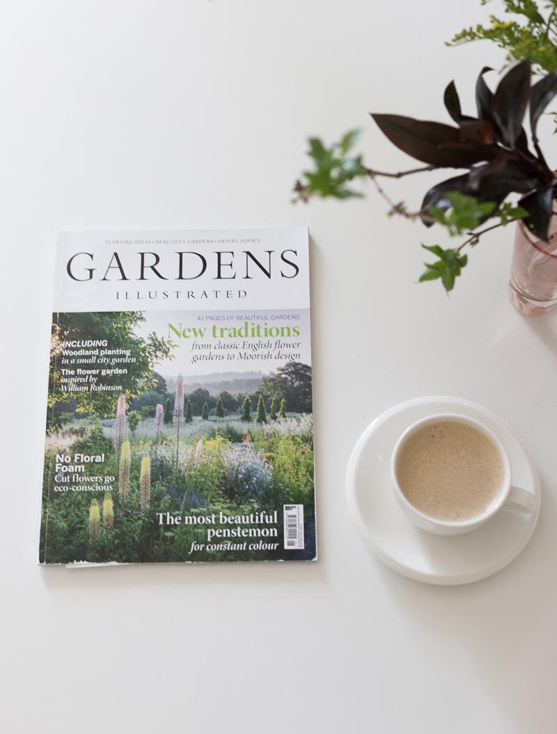piha- ja puutarhaunelmia, gardens illustrated