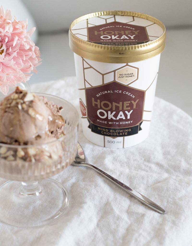 Honey Okay jäätelö