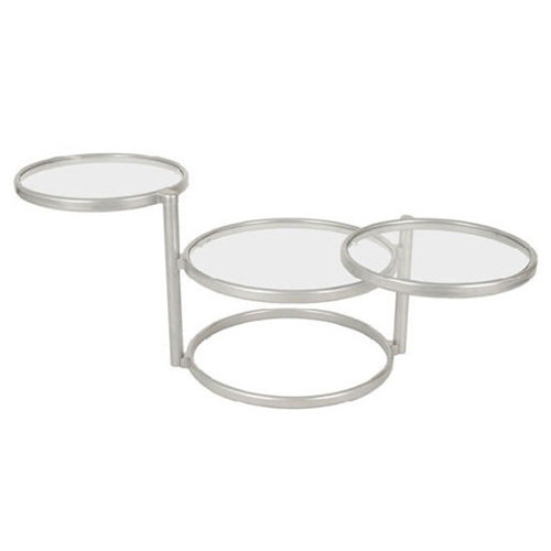 contemporary sculpture coffee table in clear glass and steel buy coffee tables online discount coffee tables uk