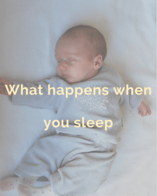 What happens when you sleep
