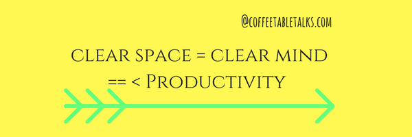 coffeetabletalks-declutter-productivity- tips
